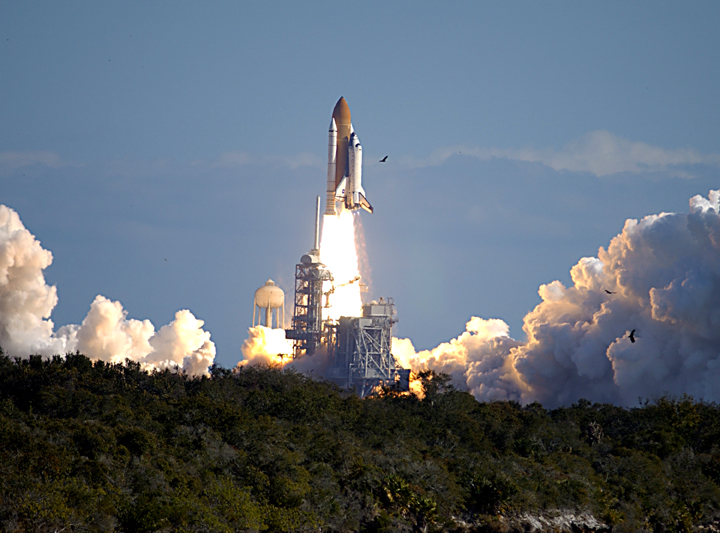 Launch of STS-107, the Final Flight of Columbia